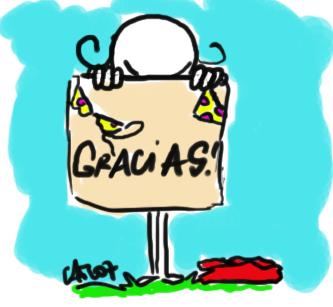 GRACIAS.-