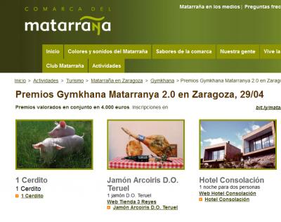 29 abril.- Zaragoza.- I Gymkhana 2.0